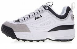 Disruptor 2 Black Grey White Fila