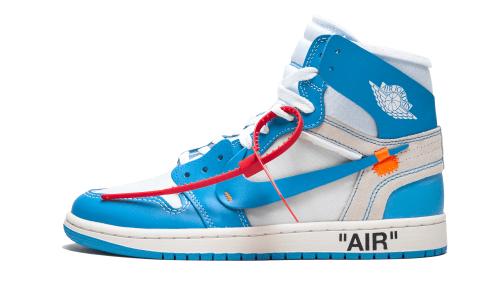 Nike Air Jordan Off-White Blue Nike