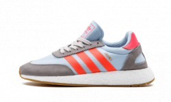 Кроссовки Adidas Iniki grey red