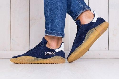 Kamanda x CP Company Blue Adidas