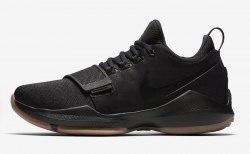 PG 1 Black/Gum Nike