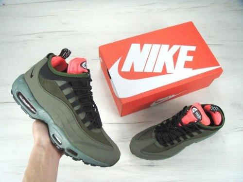 Кроссовки зимние! Air Max 95 Sneakerboot Green Nike