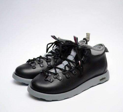 Ботинки зимние Native Fitzsimmons Black Grey Native