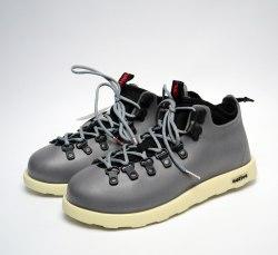 Ботинки зимние Native Fitzsimmons Grey White Native