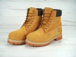 Ботинки зимние Yellow (желтые) Timberland