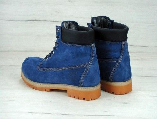 Ботинки зимние Dark Blue (тёмно-синие) Timberland