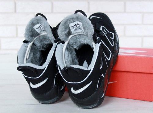 """Кроссовки зимние С МЕХОМ! Air More Uptempo """"Winter"""" Nike"""