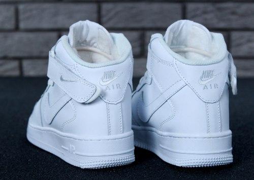 Кроссовки зимние С МЕХОМ! Air Force Winter White Nike