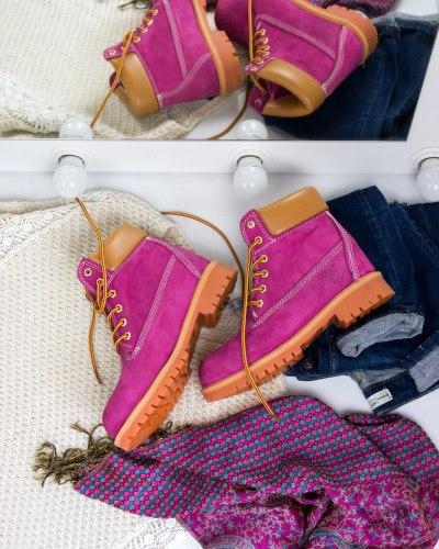 Ботинки зимние (БЕЗ МЕХА) артикул 400-222 Timberland