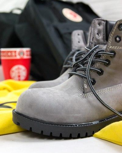 Ботинки зимние (БЕЗ МЕХА) артикул 400-228 Timberland