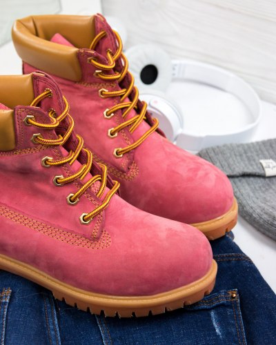 Ботинки зимние (БЕЗ МЕХА) артикул 400-230 Timberland