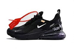 Off white x air max 270 black white Nike