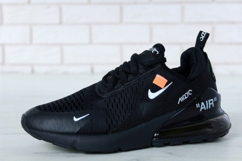 Off white x air max 270 black white Nike