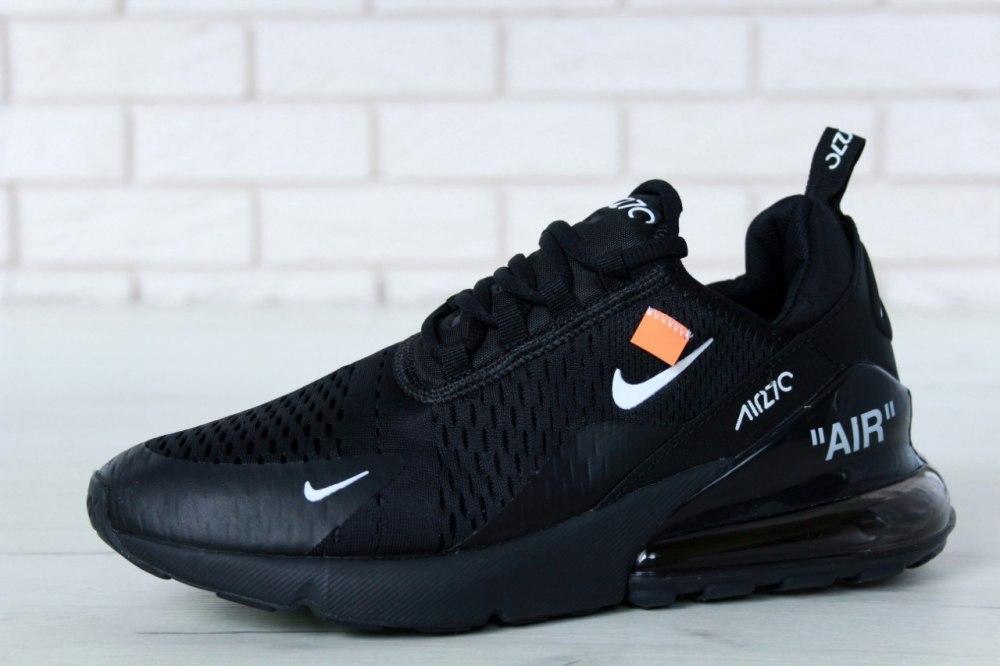 4a37216e ᐉ Купить кроссовки Off white x air max 270 black white Nike – с ...