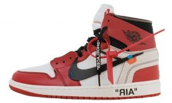 Nike Air Jordan Off-White Red Nike