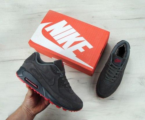 Кроссовки зимние С МЕХОМ! VT 90 FUR grey Nike