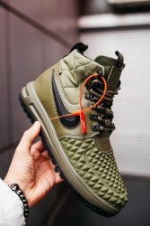 AIR Force 1 Duckboot '17 All Green Nike