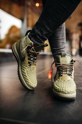 AIR Force 1 Duckboot '17 All Green Nike