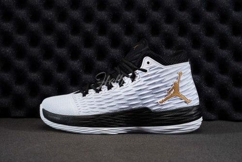 Air Jordan Melo M13 White/black Nike