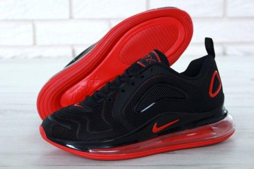 Air Max 720 Black-Red Nike