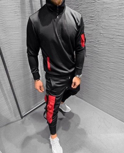 Спортивный костюм 7145-2542 красный Black Island