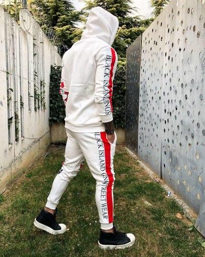 Спортивный костюм KA2070 белый Black Island