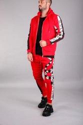 Спортивный костюм KA2070 красный Black Island