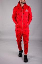 Спортивный костюм KA2098 красный Black Island