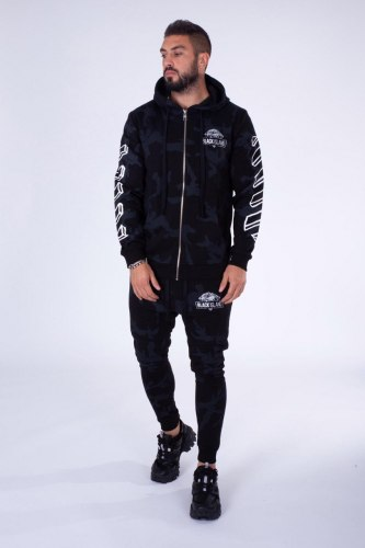 Спортивный костюм ADA1043-2230 Black Island