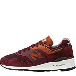 997 Ski Collection Burgundy New Balance