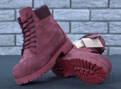 Ботинки зимние Bordo (бордо) Timberland