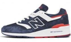 997 Navy/Red New Balance