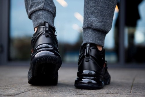 Кроссовки Оff white x air max 270 black white Nike