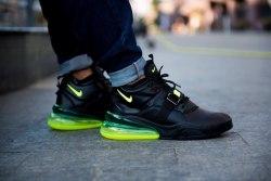Кроссовки Air max 270 Black Yellow Nike