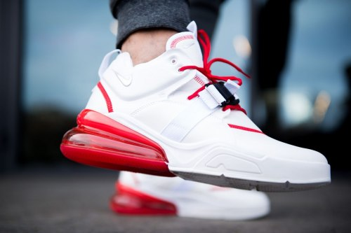 Кроссовки Air max 270 White Red Nike