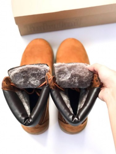 Ботинки зимние Yellow (рыжие) Timberland