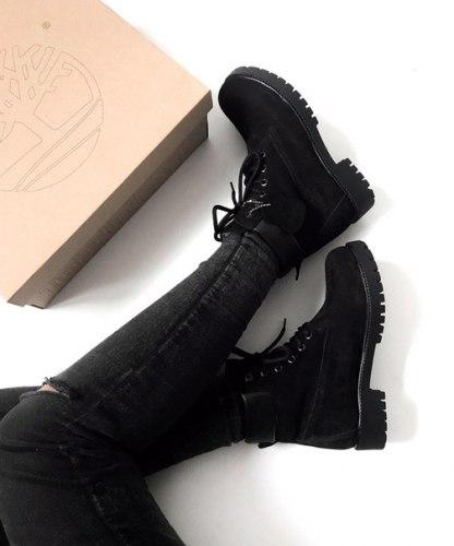 Ботинки зимние Black (чёрные-0) Timberland