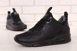 Кроссовки зимние! Air Max 90 Mid Winter Black Nike