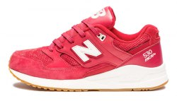 M530 90s Running Solids Red/Gum New Balance