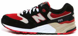 Black red New Balance