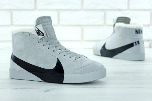 Кроссовки зимние! Blazer Winter Grey Nike