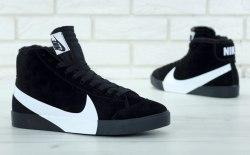 Кроссовки зимние! Blazer Winter Black Nike