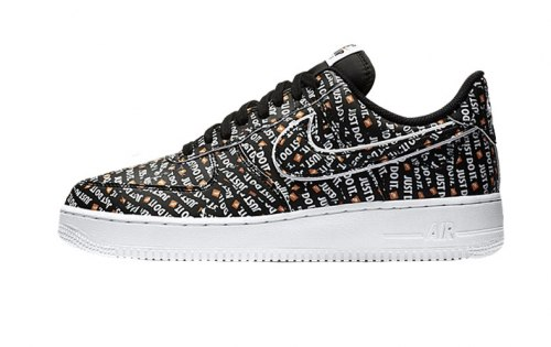 "Air Force 1 Low ""Just Do It Pack Black"" Nike"