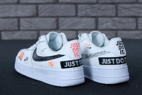 "Air Force 1 Low ""Just Do It Pack White"" Nike"
