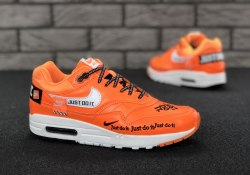 "Air Max 1 ""Just Do It"" Orange Nike"