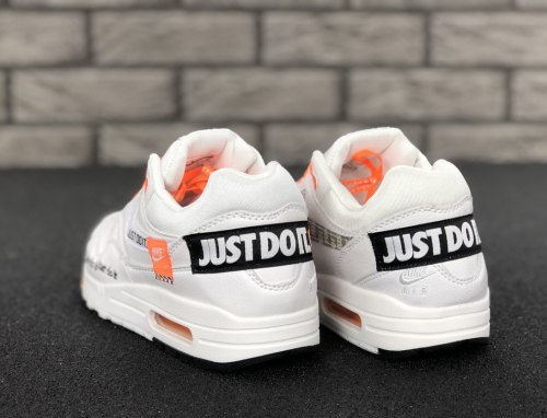 "Air Max 1 ""Just Do It"" White Nike"