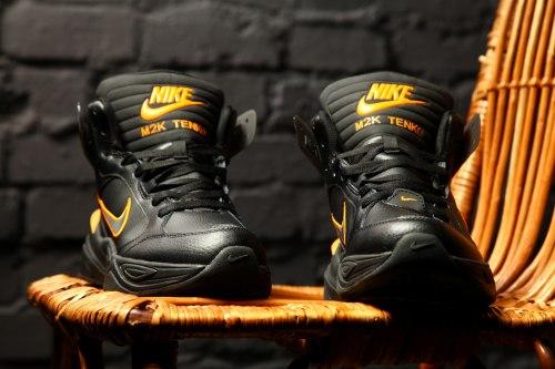 "Кроссовки зимние M2K Tekno Winter ""Black/Orange"" Nike"