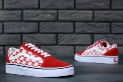 Supreme x Vans Old Skool red Vans