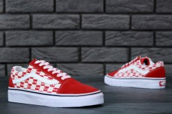Supreme x Vans Old Skool red man Vans