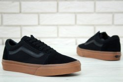 Old Skool black gum Vans